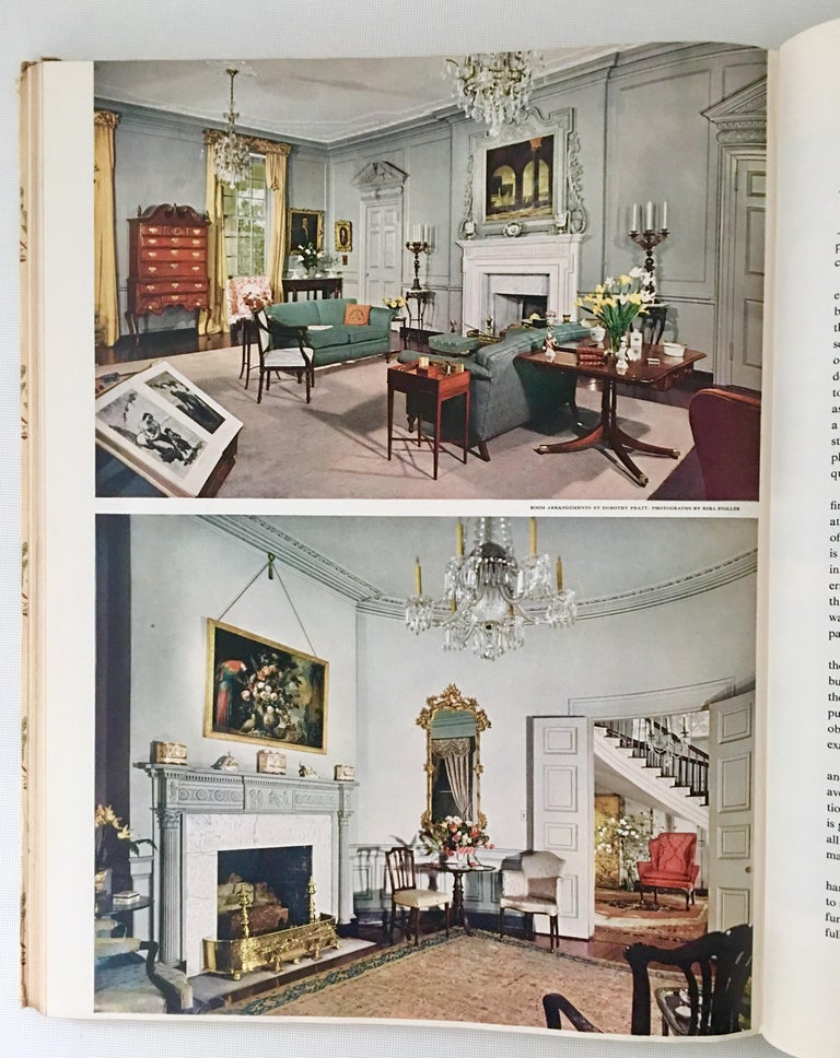First Edition Mid Century Interior Design Books Set/2 For Sale 6