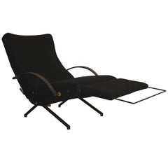 First Edition Osvaldo Borsani P40 Lounge Chair for Tecno, Italy