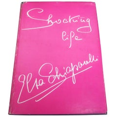 First Edition Shocking Life of Elsa Schiaparelli Hard Cover Book c 1954