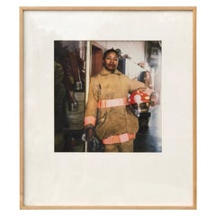 First Female Firefighter Kathy E. Morris by Photograph Jeffrey Henson Scales