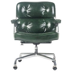 First Gen Eames Time Life Lobby Chair in British Racing Green