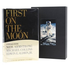 First on the Moon A Voyage with Armstrong, Collins, and Aldrin, First Edition