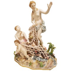 First Quality Meissen Porcelain Group, 19th Century