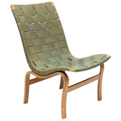 First Year Production, No 41 Eva Chair by Bruno Mathsson for Karl Mathsson, 1940