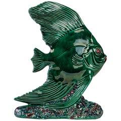 Fish in Glazed Earthenware
