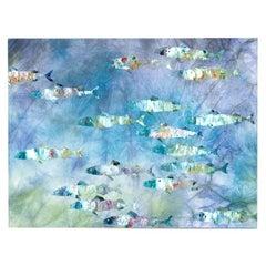 Fish Parade Tapestry