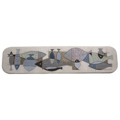 Fish Plate by Aldo Londi