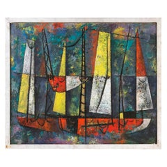 Fishing Fleet by Charles Green Shaw