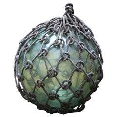 Fishing Float, Early 20th Century, Glass, Rope, Ornament, Sea, Fishermen