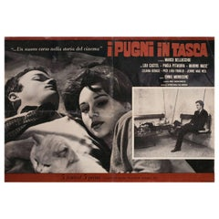 Fists in the Pocket 1965 Italian Fotobusta Film Poster