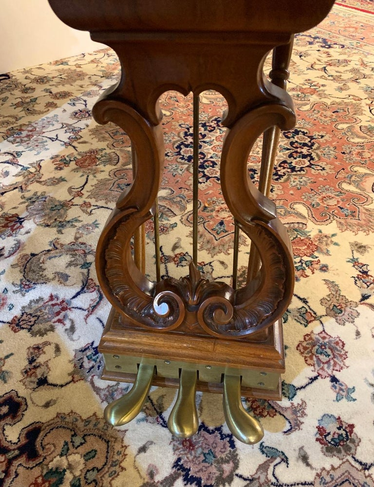 Fit for a King Steinway Louis XV Grand Piano in Beautiful Circassian Walnut For Sale 9