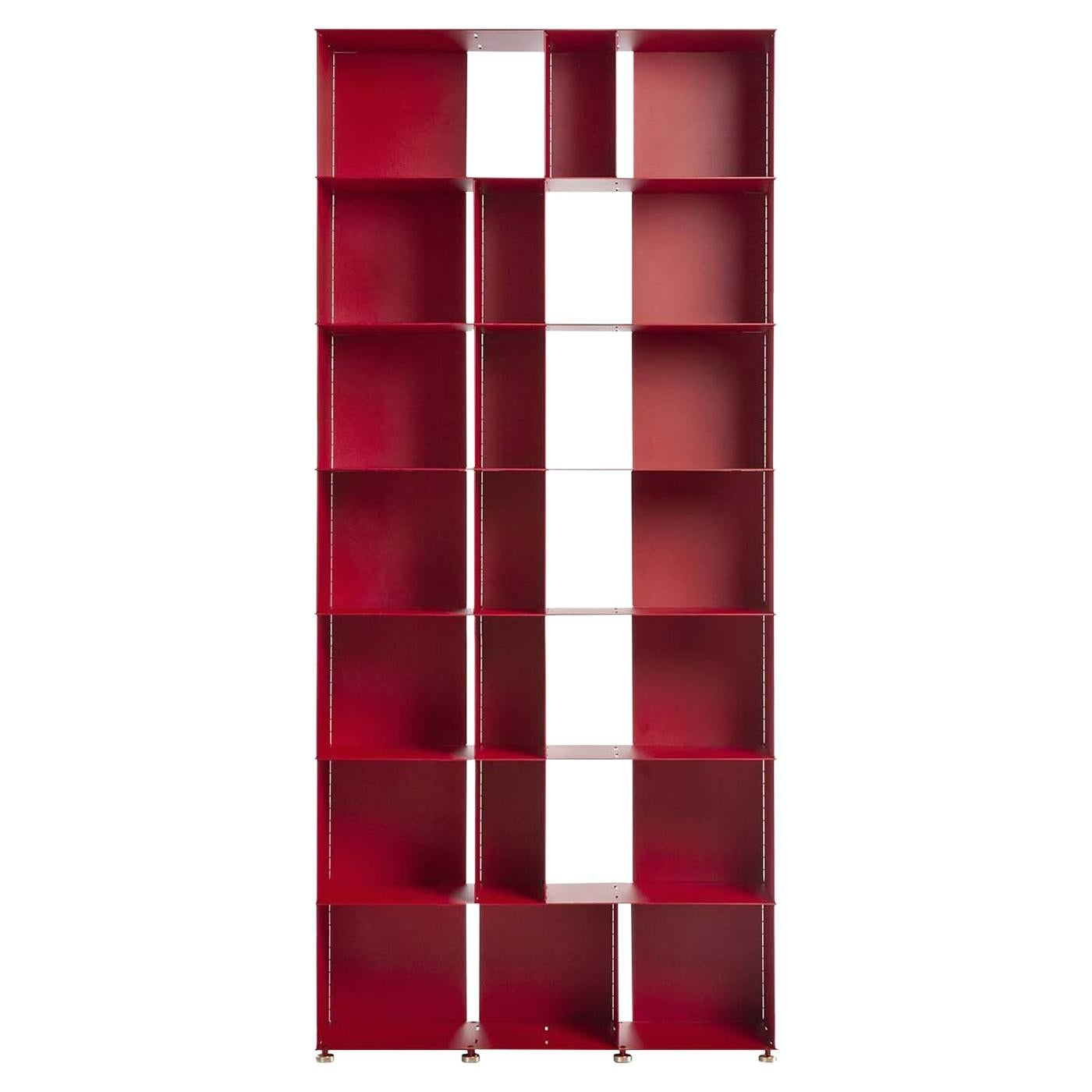 Fit Red Bookcase by Marc Sadler