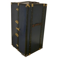 Fitted Steamer Trunk or Cabin Wardrobe, portmanteau by LG Paris