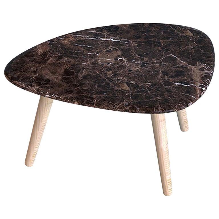 Fiume Emperador Coffee Table by Mr Smit Studio For Sale