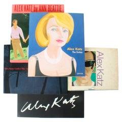 Five 1st Ed Alex Katz Art Books and Exhibition Catalogues