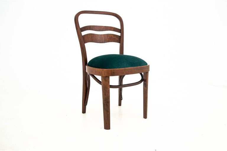 Five Art Deco Dining Room Chairs For Sale 2