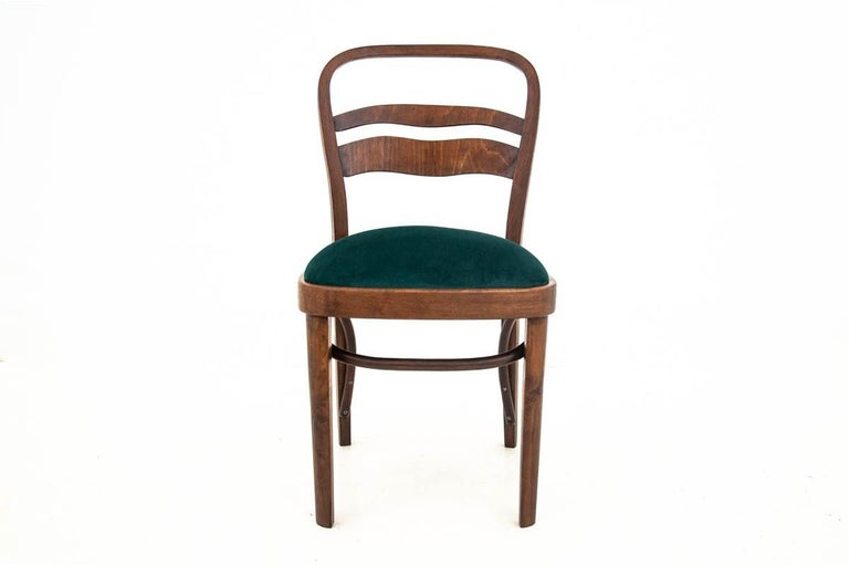 Five Art Deco Dining Room Chairs For Sale 3