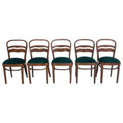 Five Art Deco Dining Room Chairs