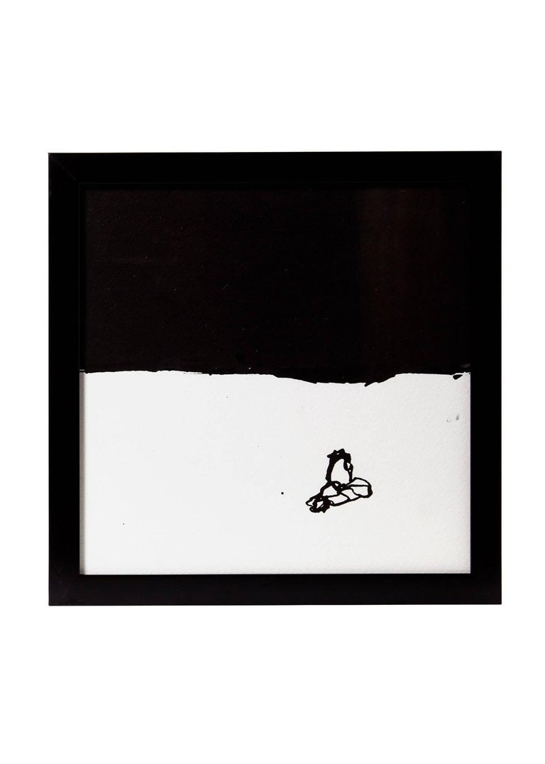 Five Black Ink on White Paper by Artist, Greg Dickerson For Sale 1