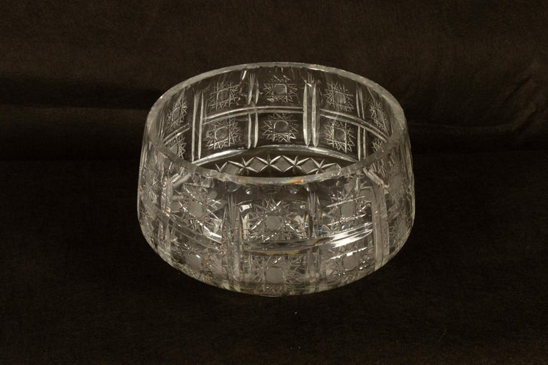 Five Crystal Bowls For Sale 5