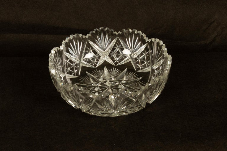 Five Crystal Bowls For Sale 9