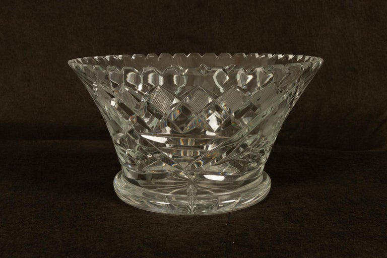 20th Century Five Crystal Bowls For Sale