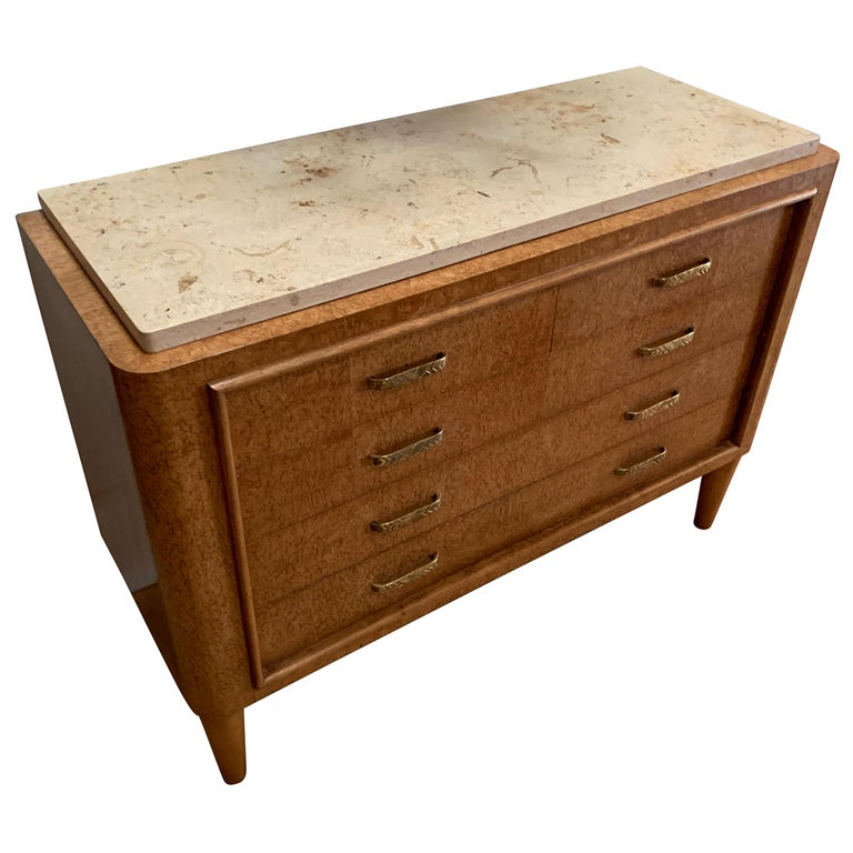 Five-Drawer Commode, France, 1930s For Sale