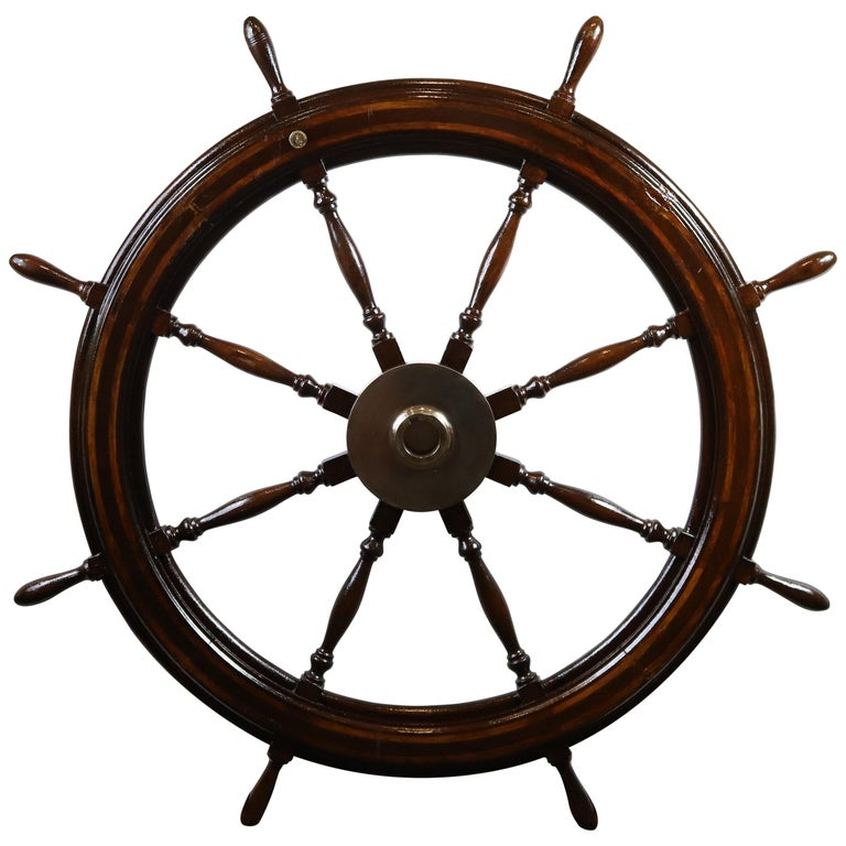 Five-Foot Ship's Wheel For Sale