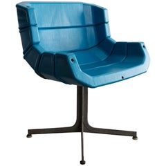 Five-Leaf Chair in Enameled Steel by George Nelson & Assocites, 1963