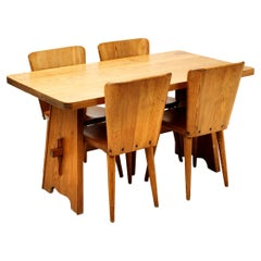 Five-Piece Dining Set by Göran Malmvall for Karl Andersson & Söner, Sweden, 1950