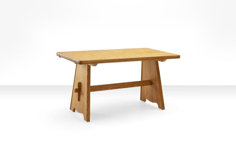Swedish Five-Piece Pine Dining Set by Goran Malmvall for Karl Andersson & Söner, Sweden  For Sale