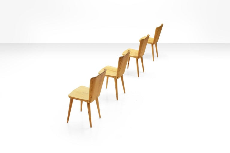 Five-Piece Pine Dining Set by Goran Malmvall for Karl Andersson & Söner, Sweden  For Sale 1