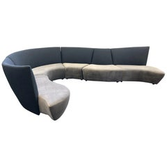 Five-Piece Sectional Sofa by Vladimir Kagan for Preview