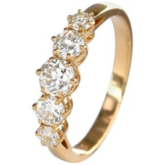 Five-Stone Diamond Engagement Ring