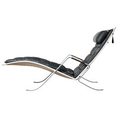 FK-87 Grasshopper Chaise by Fabricius & Kastholm for Alfred Kill, circa 1960
