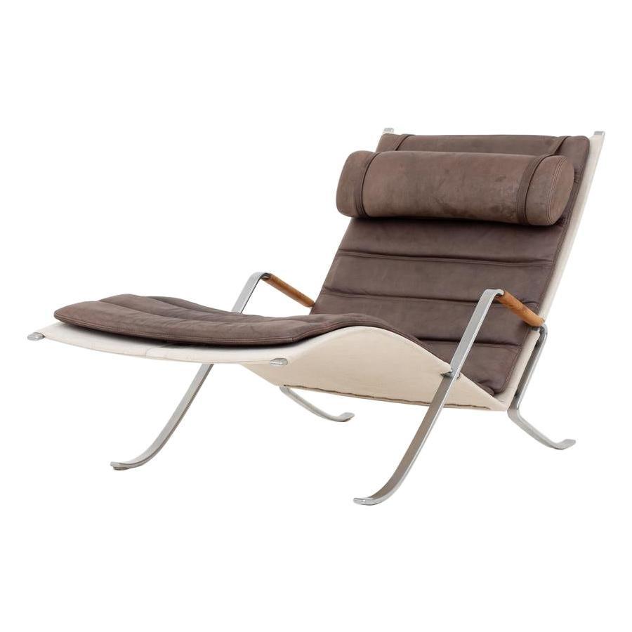 "FK 87 "" Grasshopper "" Easy Chair by Jørgen Kastholm & Preben Fabricius"