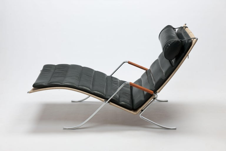 FK Grasshopper Lounge Chair by Jorgen Kastholm & Preben Fabricius For Sale 4