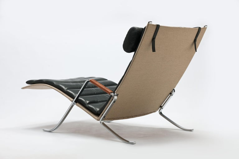Scandinavian Modern FK Grasshopper Lounge Chair by Jorgen Kastholm & Preben Fabricius For Sale