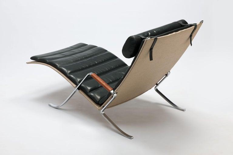 Danish FK Grasshopper Lounge Chair by Jorgen Kastholm & Preben Fabricius For Sale