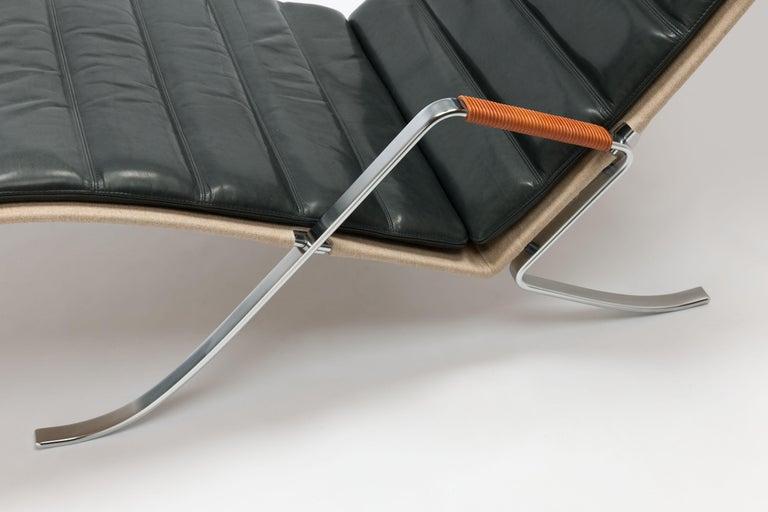 FK Grasshopper Lounge Chair by Jorgen Kastholm & Preben Fabricius In Good Condition For Sale In Utrecht, NL