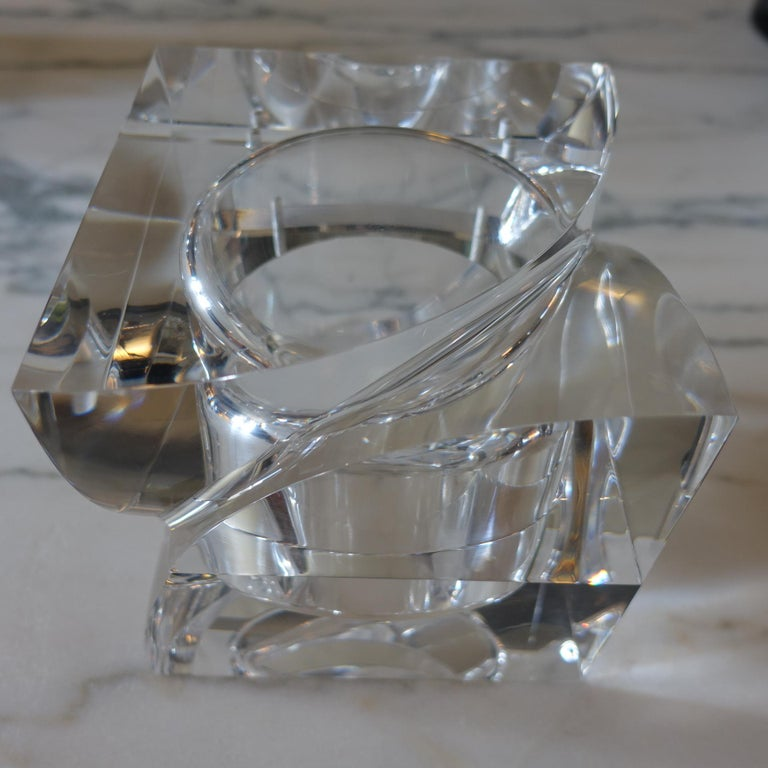 Flair Edition Big Decorative Box in Clear Lucite, Italy, 2021 In New Condition For Sale In Firenze, IT