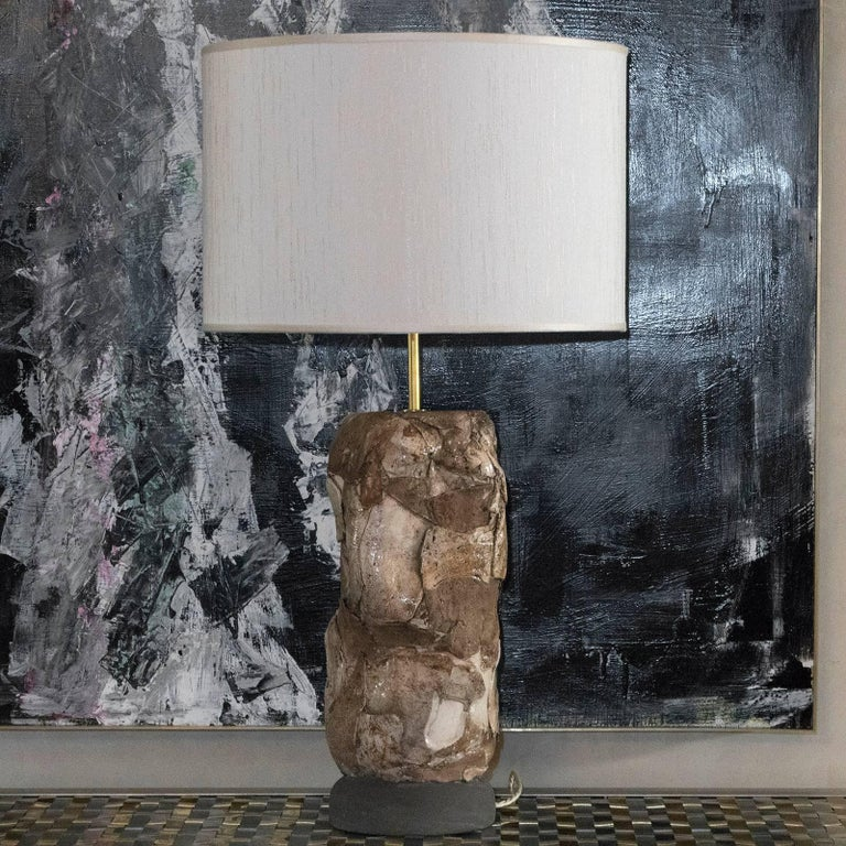 Flair Edition Glazed Ceramic Lamp In Excellent Condition For Sale In Firenze, IT