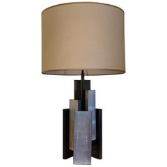 "Flair Edition ""SELENITE"" Table Lamp, Brass in Bronze Finish, Italy, 2021"