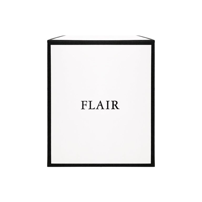 French FLAIR Home Collection Candle in Dark Amber For Sale
