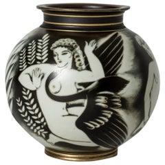 """Flambé"" Vase by Gunnar Nylund"