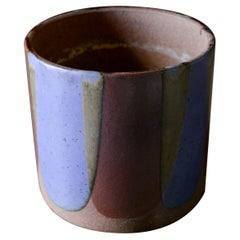 Flame Glaze Planter by David Cressey for Architectural Pottery Pro/Artisan, 1970