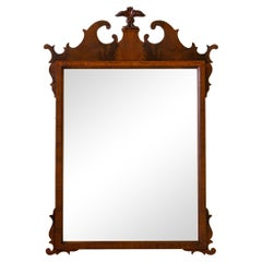 Flame Mahogany Chippendale Prince of Wales Mirror