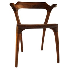 Flamingo Beak Dining Room Chair Handcrafted and Designed by Morten Stenbaek