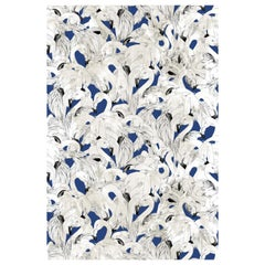 Flamingo Wallpaper in Navy by 17 Patterns