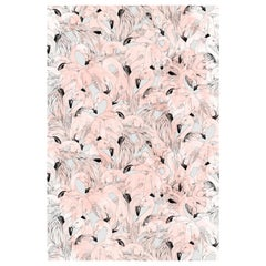 Flamingo Wallpaper in Peach by 17 Patterns